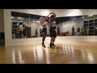 Debby and Kamacho - Austin / Texas Zouk Workshop