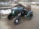 Самодельный трактор с мотоцыкла