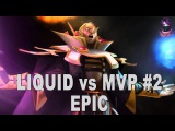 AMAZING(TOP GAME) Liquid vs MVP #2 Highlights Manila Major Playoffs Dota 2