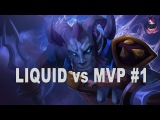 Liquid vs MVP #1 Highlights Manila Major Playoffs Dota 2