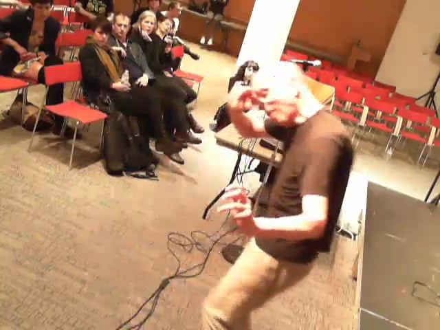 Leif Elggren @ MEGAPOLIS Audio Festival
