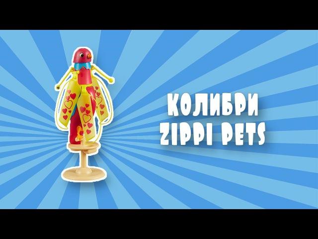 Интерактивная Птичка колибри Zippi Pets Top secret toys
