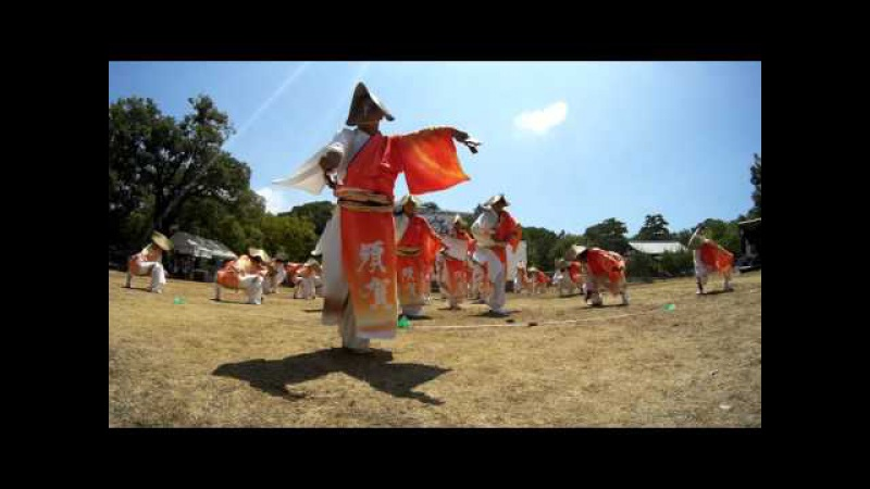 02 須賀izanai連「日 カムナガラ」  第7回いきざまつり Low Wide