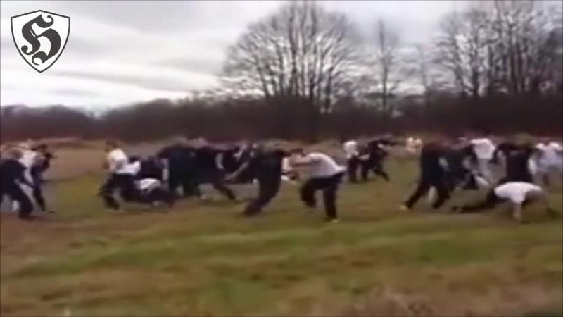 Hooligans Fight _ Pogoń Szczecin vs Piast Gliwice