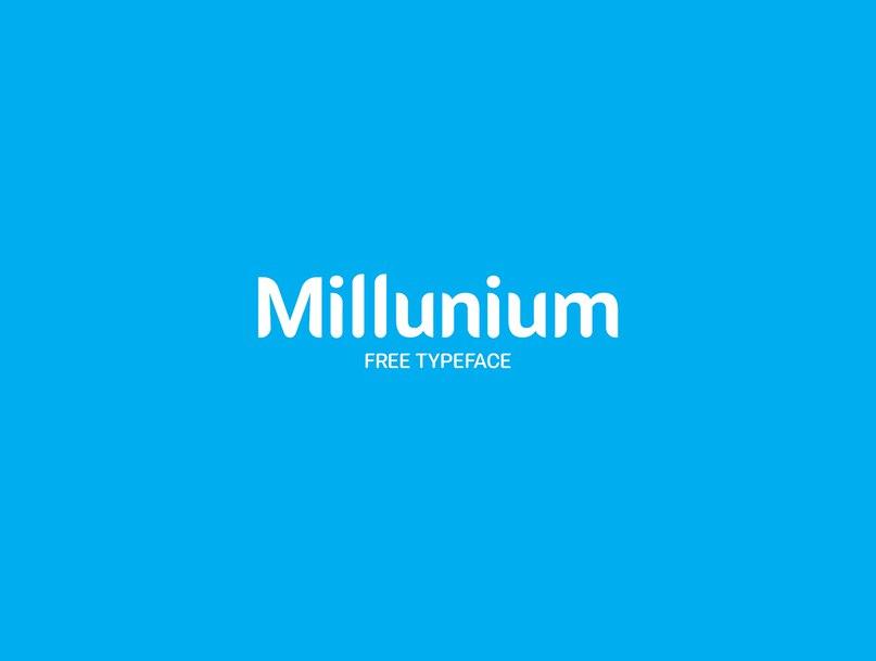 Millunium шрифт скачать бесплатно