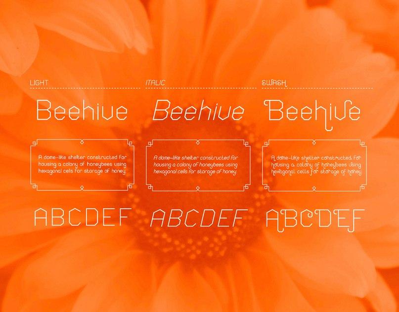 honeycomb шрифт скачать бесплатно