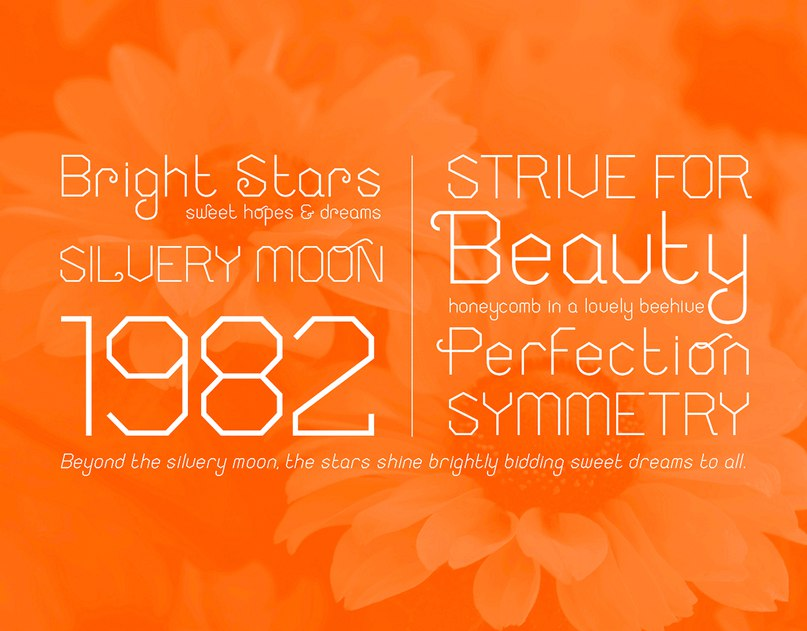 Download honeycomb font (typeface)