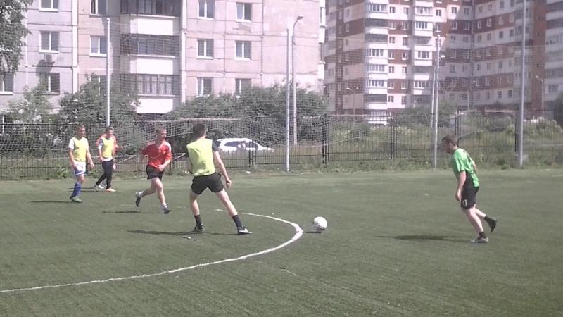 Чемпионат Пермского Края 8х8, 1 лига. Упакс Юнити-Железка-5:0. 2 тайм