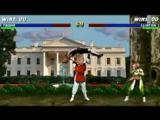 Mortal Kombat Trump vs Clinton \ Смертельная схватка Трамп против Клинтон