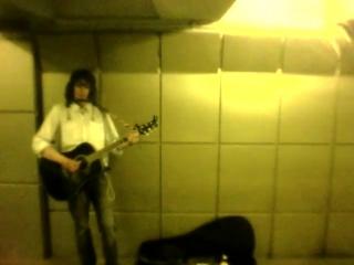 Серебряные Струны, Грозный Поезд Жизни и две Булата (подземка репетиционный момент)
