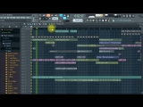 Global Deejays &amp Danny Marquez feat. Puppah Nas-T &amp Denise - Work (Andrey Vertuga remix) FL STUDIO