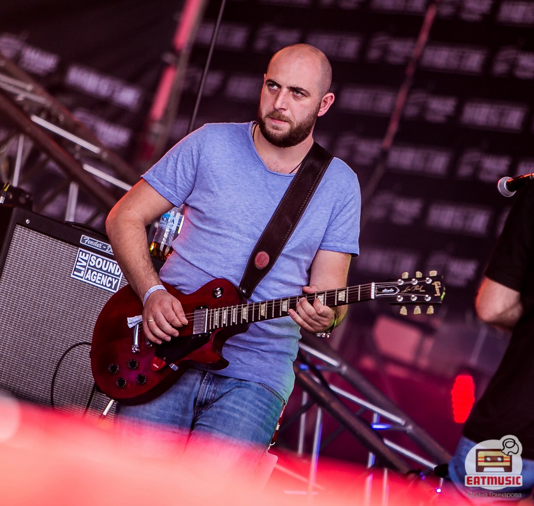 Группа MGZAVREBI на фестивале НАШЕСТВИЕ 2016