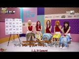 160920 Red Velvet @ The Show Bingo Talk pt.1 [рус.саб]