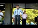 Август 2009 года. Алексей Гончаренко агитирует за Януковича