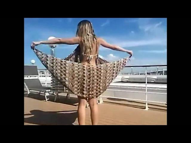5 способов сделать модный пляжный наряд из парео
