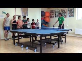 Настольный тенис игра