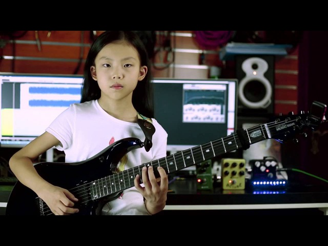 A 9 year old girl YOYO(Pinxi Liu)Cover Angel Of Darkness-Andy james
