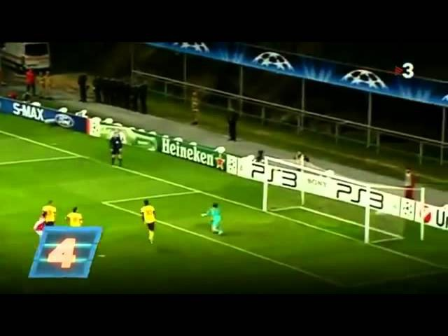 UEFA Champions League Top 10 Goals 2010 11 Season