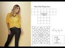 Explicação da Blusa meia manga amarela