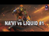 Na'Vi vs Liquid #1 Highlights Manila Major Playoffs Dota 2