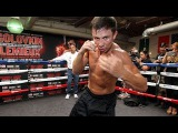 Gennady Golovkin training