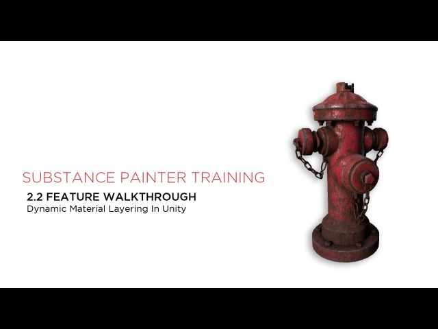 Substance Painter 2.2 Material Layering in Unity