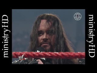 """The Undertaker Attempts to have Kane """"Taken Away"""" 11⁄30⁄98"""