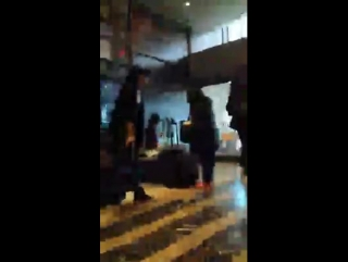 Reita, Uruha, Kai and Ruki in New York's hotel