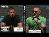UFC 202: Лучшие моменты с пресс-конференции (Конор Макгрегор, Нэйт Диаз)