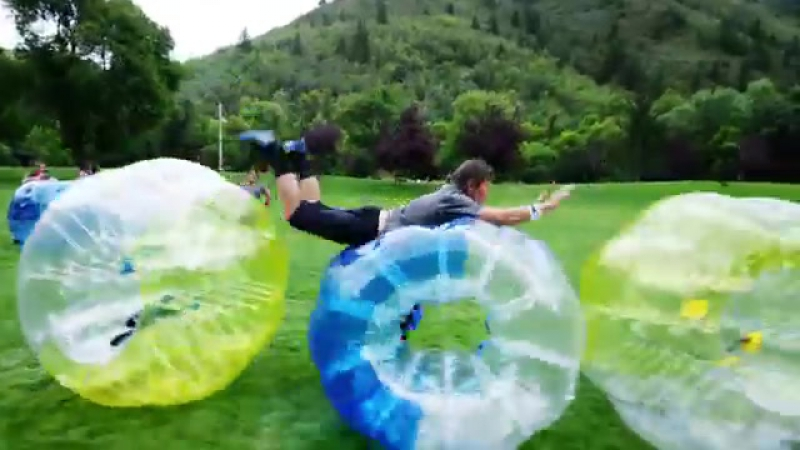 Greatest Game Ever Played – Zorb Soccer with Champion mariotobres