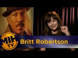 Britt Robertson Mr. Church Interview