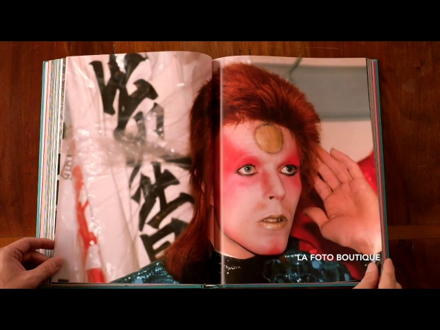 Book THE RISE OF DAVID BOWIE 1972-1973 by Mick Rock
