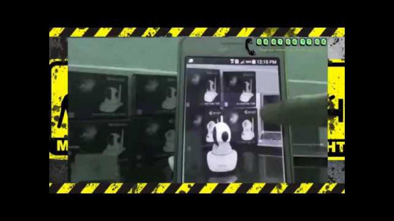 Ba bước kích hoạt Camera quan sát Không cần đầu ghi hình Vantech VT 6300A