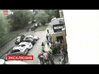 Нападение на гей-клуб в Екатеринбурге сняли камеры наблюдения