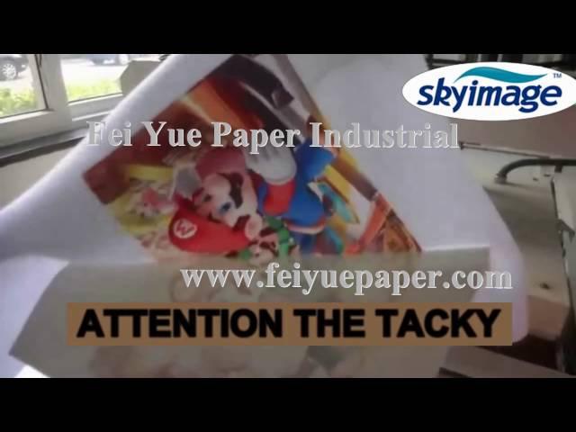 Atencao foleiro de transferência de papel de sublimacao foleiro 105gsm