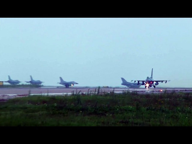 F 16s Take Off From Kunsan Air Base for Red Flag Alaska 14 3 - Video Dailymotion