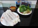 Рисовые блинчики рецепт еда во Вьетнаме Блины по-ханойски рецепты вьетнамской к