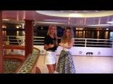 Марина Африкантова и Андрей Чуев на яхте, в Дубаи