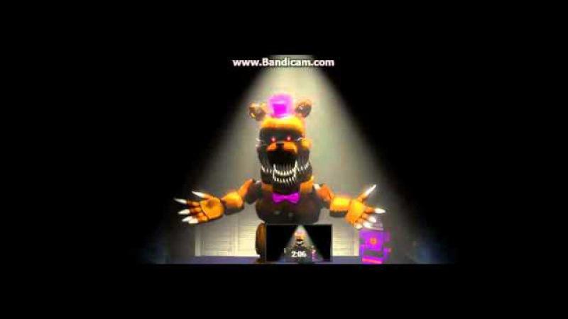 фнаф 4 анимацыя кошмар