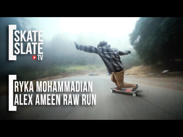 Ryka Mohammadian Alex Bad Decisions Ameen Raw Run Skate Slate TV