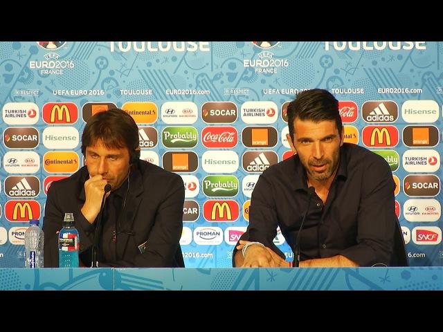 Buffon La Svezia non è solo Ibrahimovic - EURO 2016