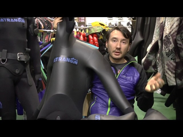 зимний гидрокостюм для подводной охоты KatranGun Hunter SmoothSkin 5, 7, 9, 10мм