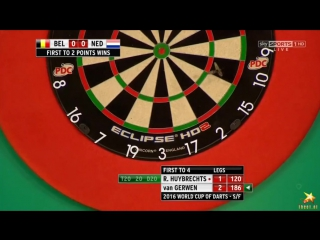 Belgium vs Netherlands (PDC World Cup of Darts 2016 / Semi Final)