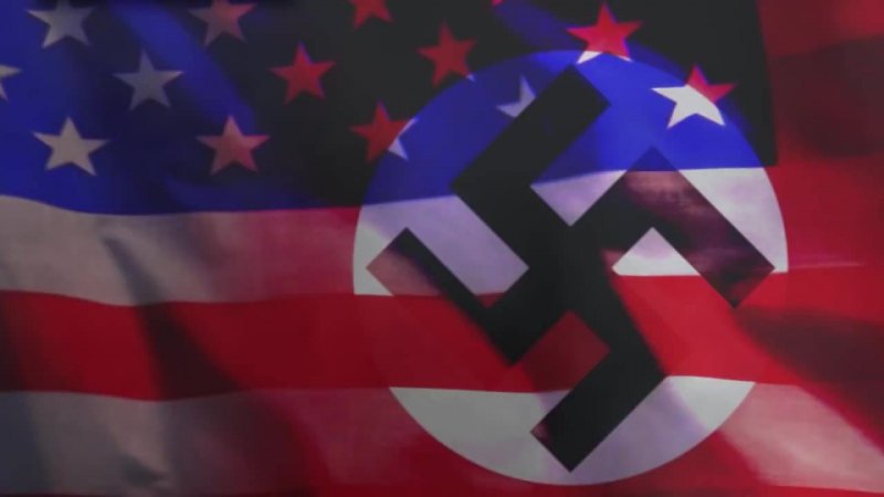 США: Америка - рассадник фашистов America - a hotbed of Nazis !