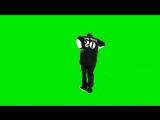 Snoop Doog. Футаж. Зеленый фон (Хромакей)