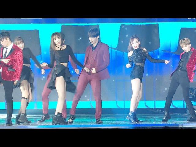 GOT7·세븐틴·여자친구·TWICE JYP 댄스 스테이지 @2016 SAF SBS 가요대전 2부 20161226