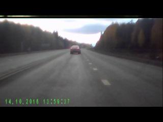Глупое ДТП в ЕКБ 14.10.16