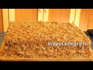 Рецепт торта творога с заварным кремом 2
