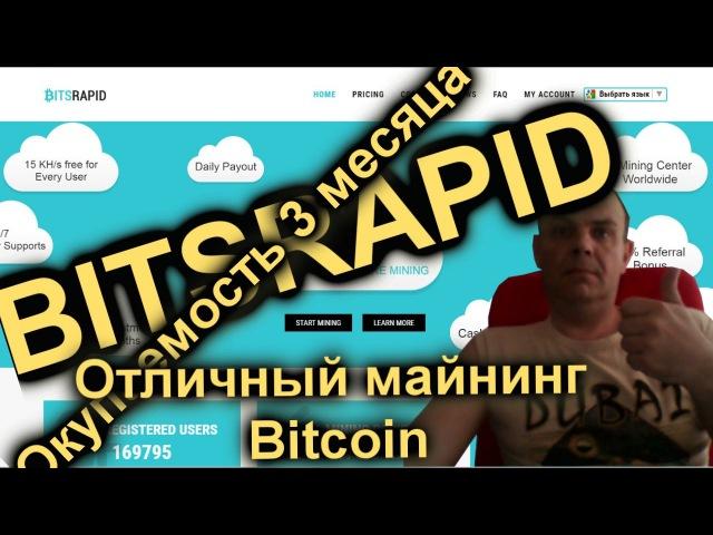 Bitsrapid.com Отзывы и обзор доходности и окупаемости