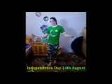 Beautiful Pakistani Girl Dance On Pakistan Independence Day | 14th August